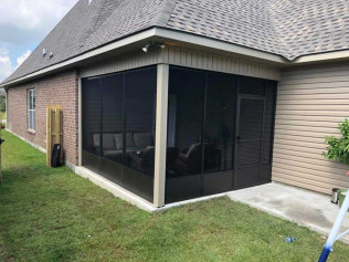 screened in porch baton rouge la